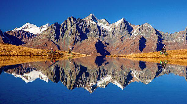 Zupalsee, Austria, Alpine, East Tyrol, Grossvenediger