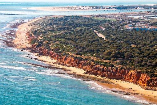 Chiclana, Cadiz, Beach, Landscape, Nature, Sunset