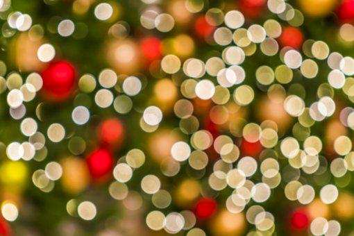 Christmas, Blur, Celebration, Eve, Cheerful, Focus