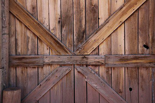 Wood, Wooden, Door, Rustic, Old