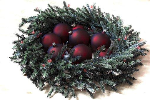 Christmas, Winter, Spruce, Ornament, Christmas Balls