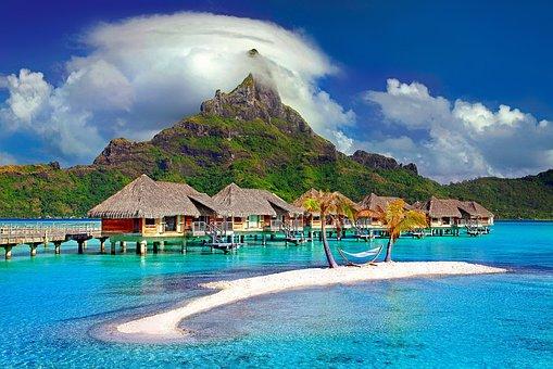 Bora Bora, Tahiti, Polynesia, Paradise, Island, Travel