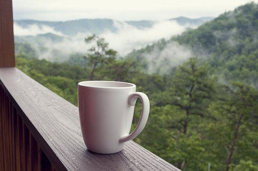 Smoky Mountains, Coffee, Nature, Vacation, Relax