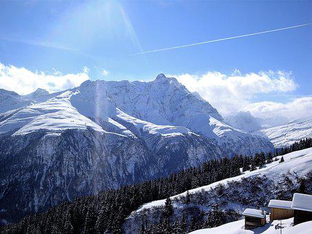 Winter, Snow, Mountains, Alpine, Wintry, Cold, White