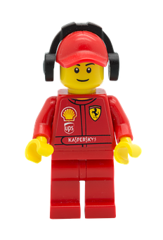 Lego, Figurine, Racer, Shell, Character, Toy, Lego City