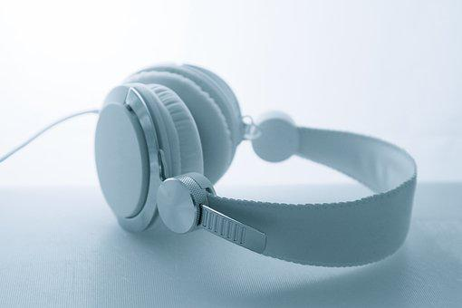 Headphones, Neutral, Music, Pulse, White, Symphony