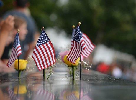 Usa, September 11th, Memorial, Monument, New York