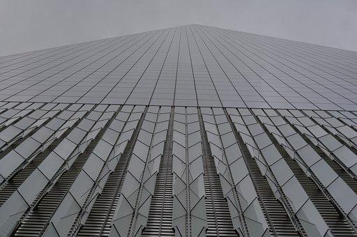 New York, Architecture, Skyscraper, Wtc, Manhatan, Usa