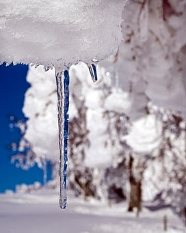 Icicle, Ice, Drip, Frozen, Icy, Cold, Winter, Snow
