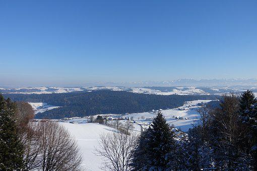 Hohwacht, Alpine, Alpenblick, Winter, Switzerland