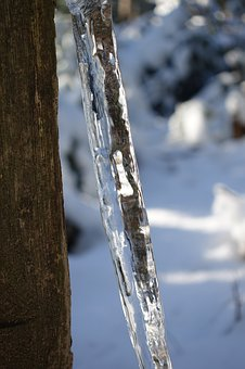 Icicle, Ice, Frozen, Winter, Cold, Rattling
