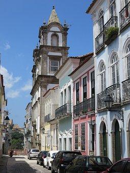 Brazilwood, Bahia, Church, Bahia De Todos Los Santos