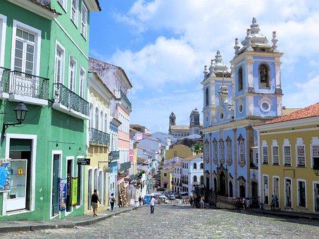 Brazilwood, Bahia De Todos Los Santos, Pelorinho