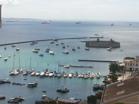 Baía De Todos Os Santos, Salvador, Bahia, Porto, Bay