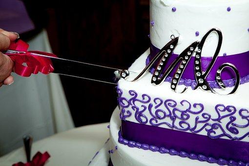 Wedding, Cake, Cut, M, Wedding Cakes, Sweet, Food