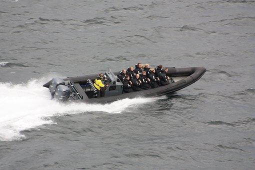 Boat, Sail, Ship, Speed, Action, Jetski, Motorboat