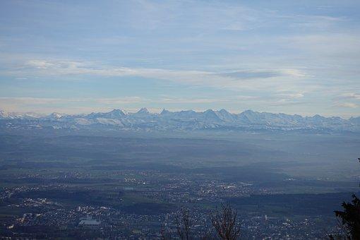Alpenblick, Alpine, Switzerland, Mountains, View
