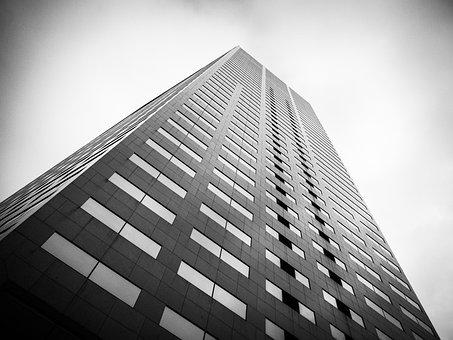 Skyscraper, Architecture, City, Futuristic, Office