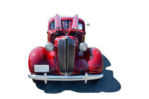 Vintage Car, Automobile, Class, Isolated Background