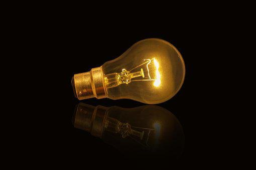 Lamp, Bulb, Electricity, Power, Insubstantial, Energy