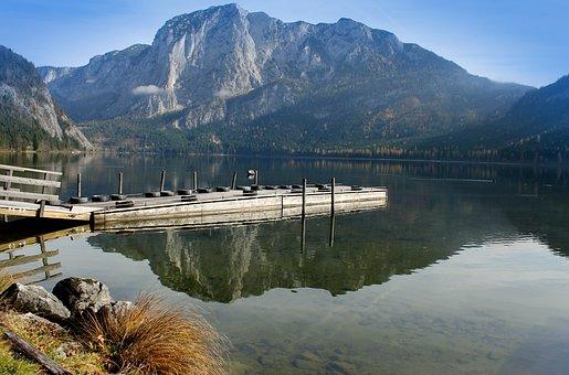 Water, Lake, Mountain, Nature, River, Landscape