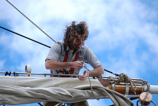 Sailing, Wind, Adventure, Ship, Nautical, Sailboat