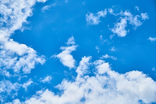Sky, Cloud, Clouds, Blue, White, Atmosphere, Air, Space