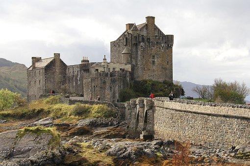 Eilean Donan Castle, Castle, Medieval, Historical