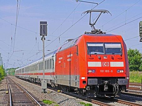 Deutsche Bahn, Intercity, Ic, Railway, Rail Traffic