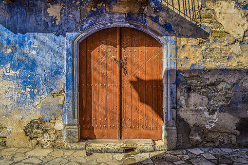 Door, Architecture, Traditional, Old, Wooden, House
