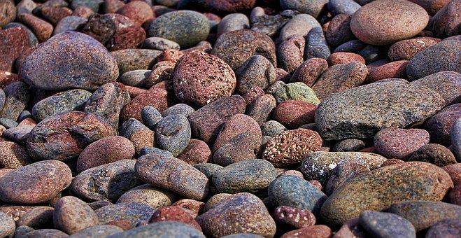 Stone, Pebble, Lanzarote, Beach, Lava, Steinchen