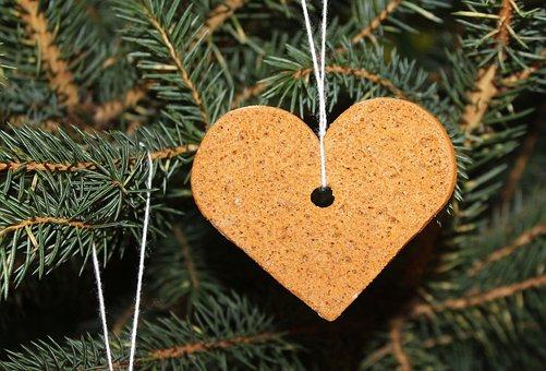 Christmas, Winter, Tree, Gingerbread, Ornament
