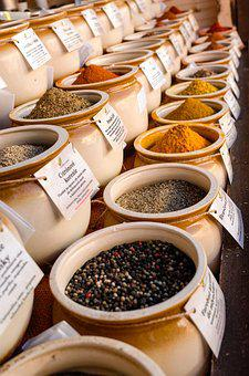 Food, Stock, Spice, Market, Cook, Container, Goods