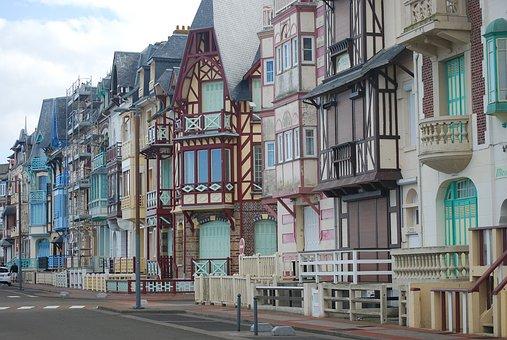 Architecture, Street, City, House, Villa