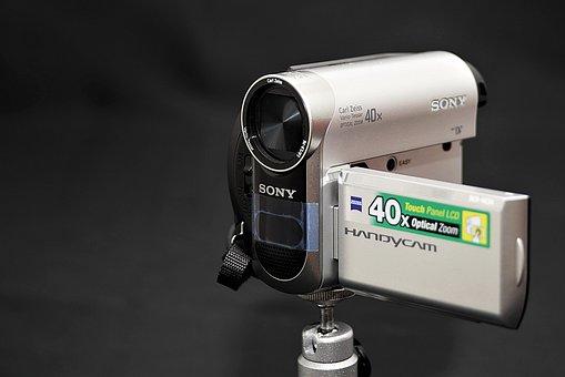 Camera, Video Camera, Digital, Handcam, Technology