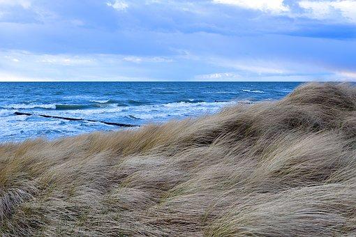 Nature, Sea, Coast, Waters, Beach, Sky, Wave, Landscape