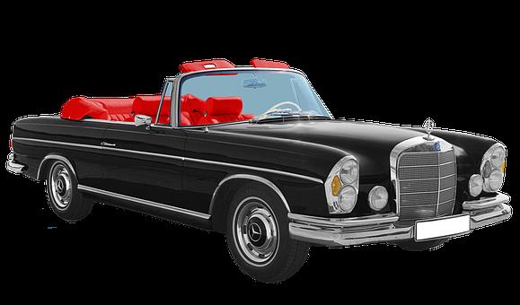 Mercedes-benz Stuttgart, Type W108, 300se, Cabriolet