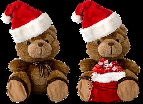 Nikolausbär, Bear, Isolated, Stuffed Animal, Teddy Bear