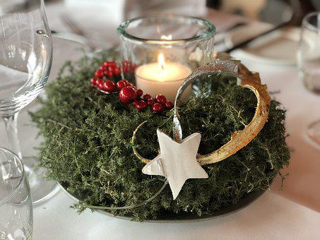 Advent, Christmas, Candle, Wreath, Decoration