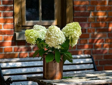 Flowers, Table, Decoration, Wood, Table Decorations
