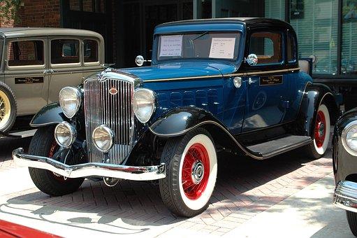 Classic, Engine, Chrome, Nostalgia, Bumper, Wheel