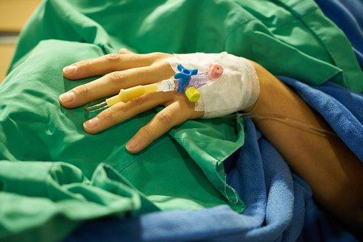 Surgery, Serum, Bandage, El, Hospital, Finger