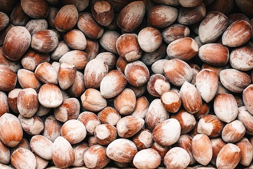 Nuts, Almonds, Roasted, Salted, Snack, Healthy
