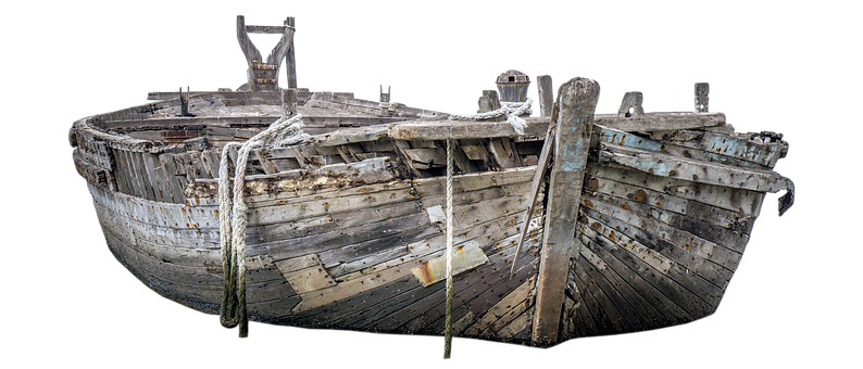 Boot, Old, Wood, Old Boat, Weathered, Old Wood, Morsch