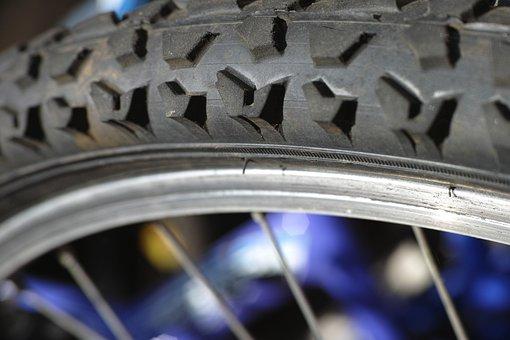 Rubber, Macro, Bicycle, Road, Circle, Plastic, Black