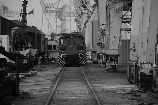 Technology, Port, Harbour Crane, Envelope, Dare