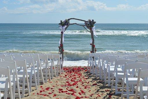 Martha's Vineyard, Beach, Ceremony, Romantic
