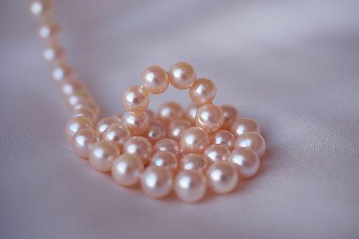 Pearls, Wedding, White, Jewelry, Necklace, Shine