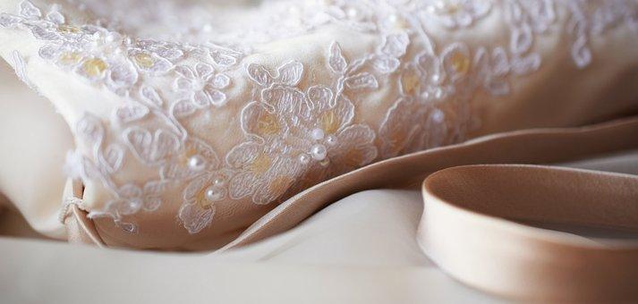 Lace, Wedding, White, Fabric, Bridesmaids
