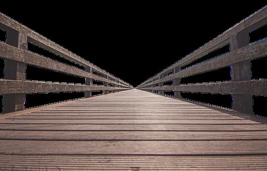 Web, Wood, Old, Planks, Away, Boardwalk, Wooden Bridge